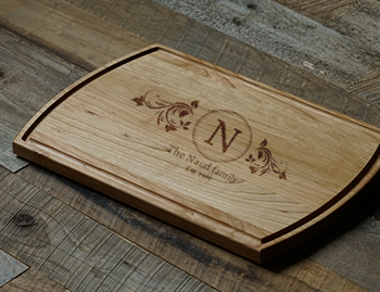 personalized cutting boards, engraved cutting boards, unique cutting board gifts, high-quality hardwood cutting boards