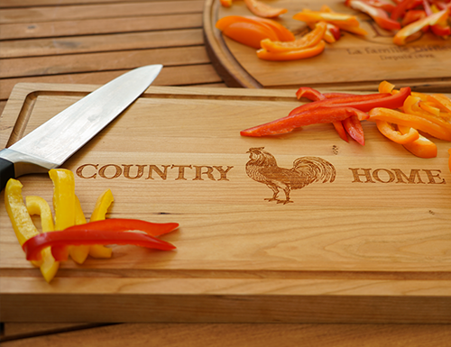 hardwood cutting boards, engraved cutting boards, personalized cutting boards