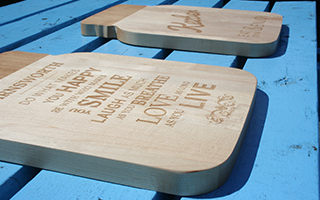 5 Ideas for Engraving Your Cutting Boards