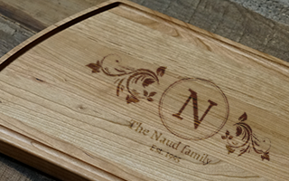 Personalized Boards make Unique Holiday Gifts